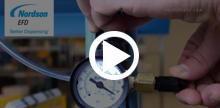 液剤ディスペンサーの成功事例 – 工場のエアー供給